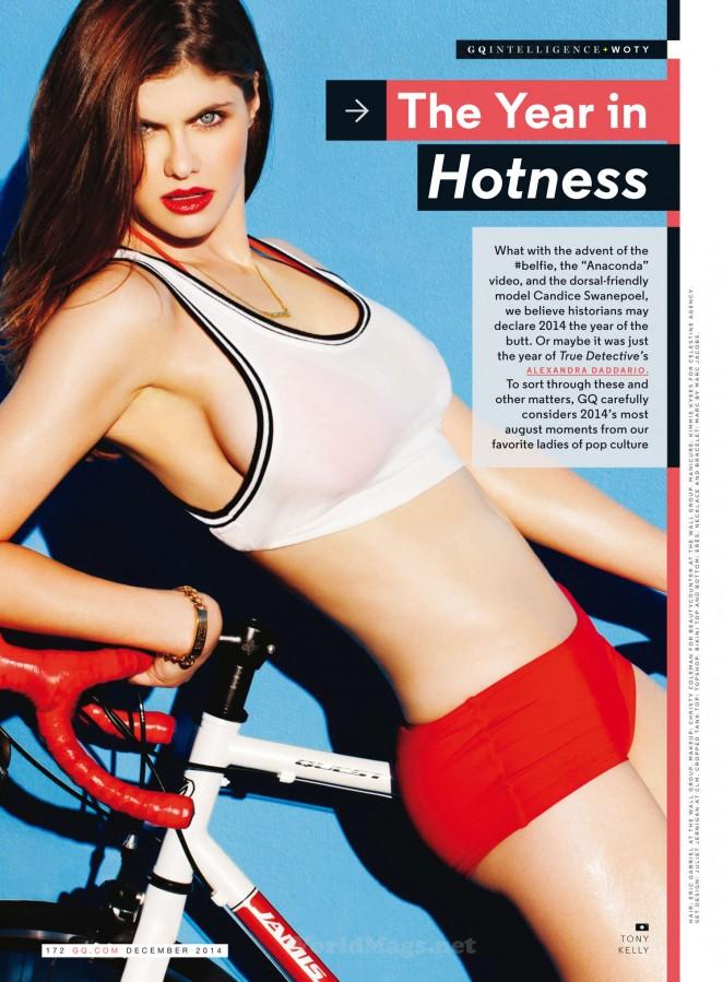 Alexandra Daddario - GQ Magazine (December 2014)