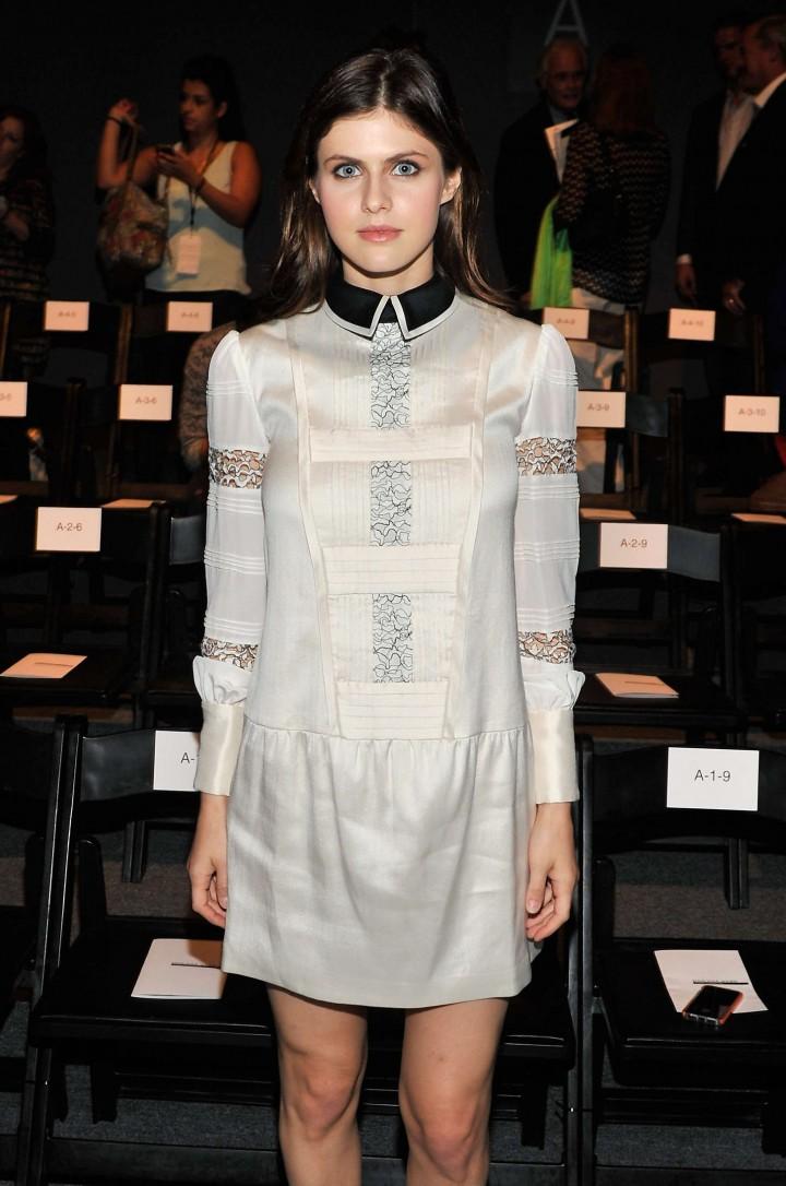 Alexandra Daddario - Marissa Webb Fashion Show in NYC