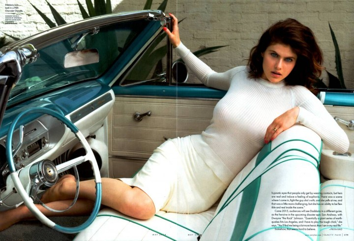 Alexandra Daddario: Vanity Fair 2014 -01