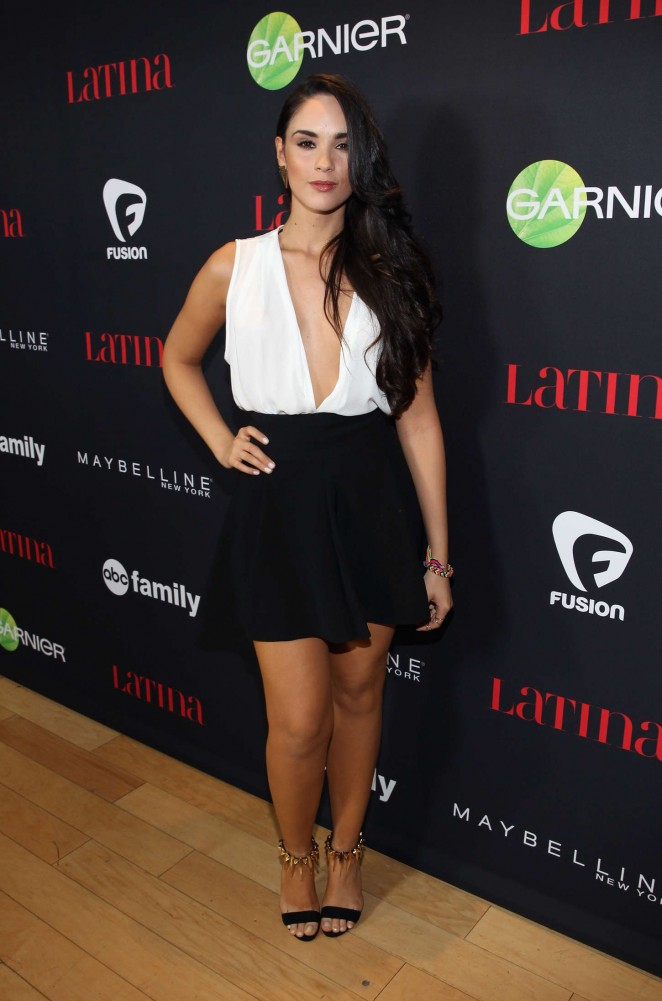 Alexandra Pomales - Latina Magazine's '30 Under 30' Party in West Hollywood