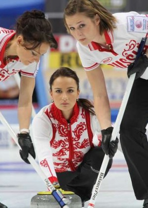 The 30 Hottest Russian women curling team Photos: Alexandra Saitova - Ekaterina Galkina - Anna Sidorova -12