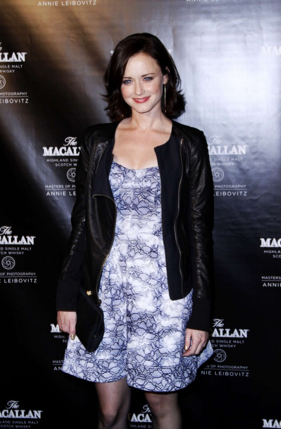 Alexis Bledel at THE MACALLAN 2012-01