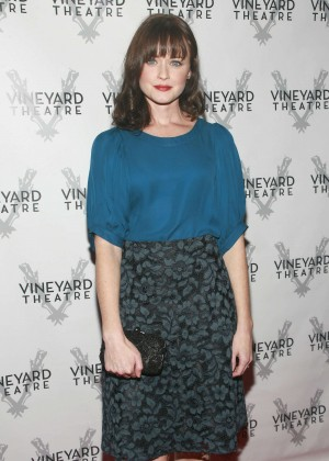 Alexis Bledel - Opening Night Arrivals for Billy & Ray in New York