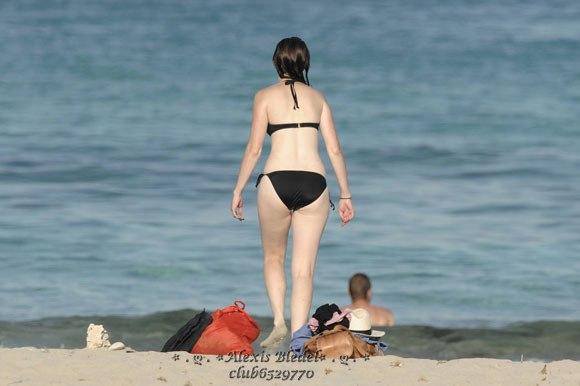 bledel bikini Alexis in