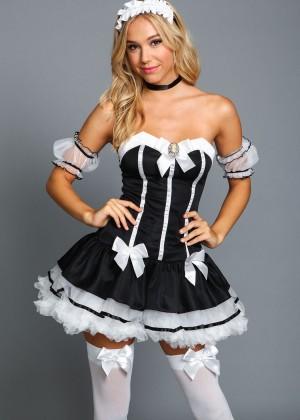 Alexis Ren: Love Culture Halloween Costume Shoot 2014 -34
