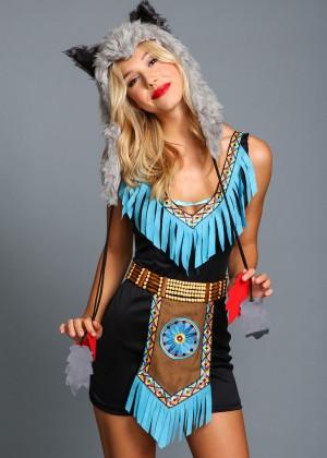 Alexis Ren: Love Culture Halloween Costume Shoot 2014 -40