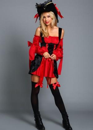 Alexis Ren: Love Culture Halloween Costume Shoot 2014 -49