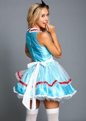 Alexis Ren: Love Culture Halloween Costume Shoot 2014 -51