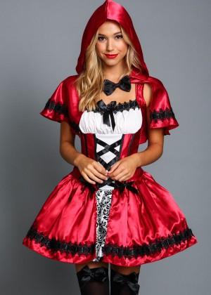 Alexis Ren: Love Culture Halloween Costume Shoot 2014 -70