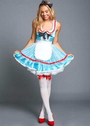 Alexis Ren: Love Culture Halloween Costume Shoot 2014 -71