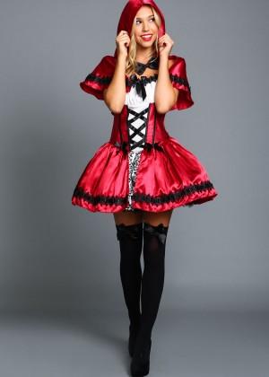 Alexis Ren: Love Culture Halloween Costume Shoot 2014 -72