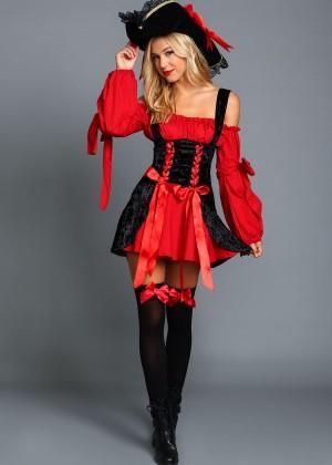 Alexis Ren: Love Culture Halloween Costume Shoot 2014 -97