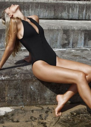 Alexis Ren - First Base Sports & Swimwear Photoshoot 2014
