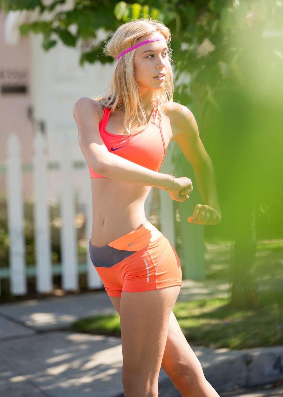 Girls Topless Running Shoes