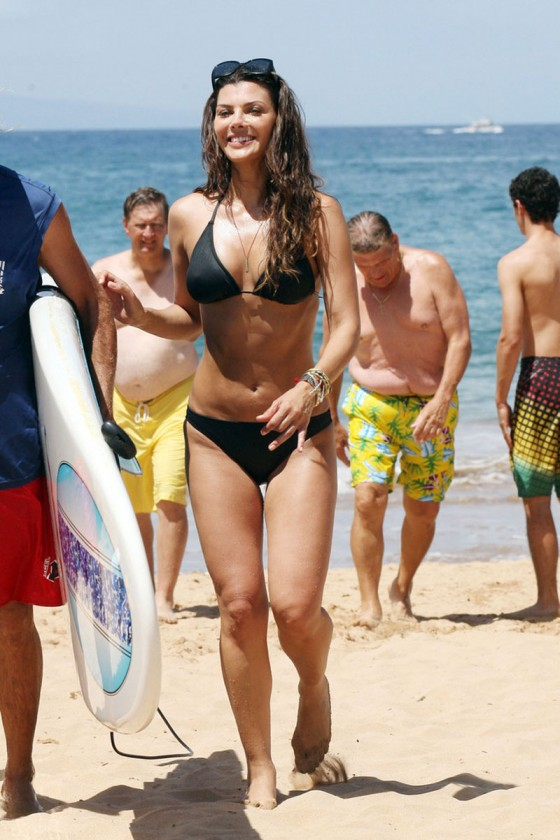 Ali Landry – Hot In a Bikini in Hawaii-11