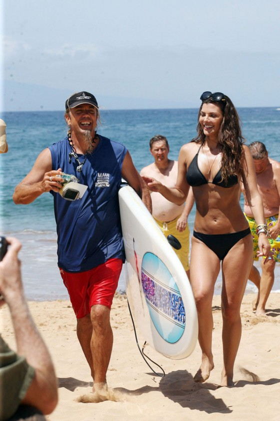 Ali Landry – Hot In a Bikini in Hawaii-17