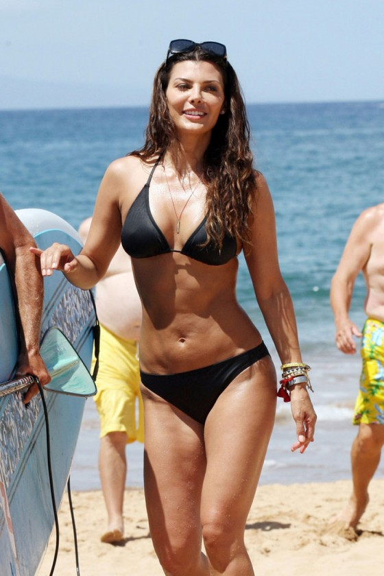 Ali Landry - Bikini in Hawaii