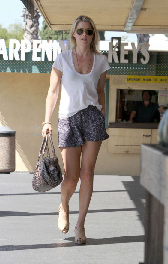 Ali Larter at Whole Foods in West Hollywood