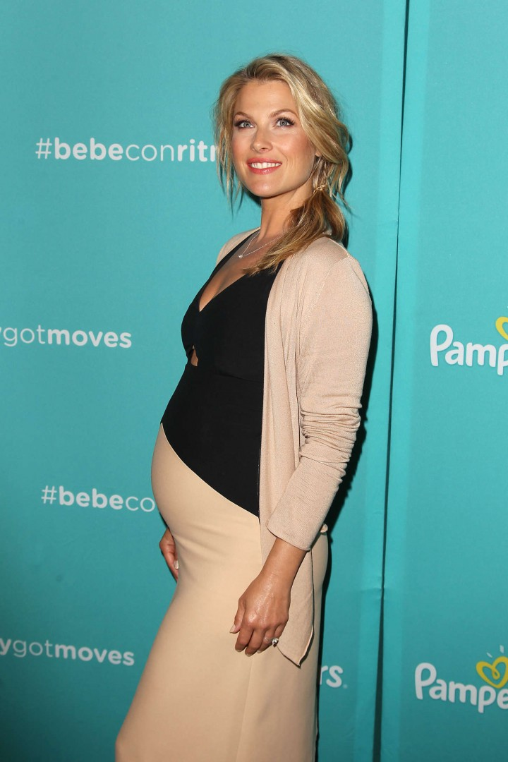 Ali Larter - Pampers Celebrates Fun Morning Moments in NYC