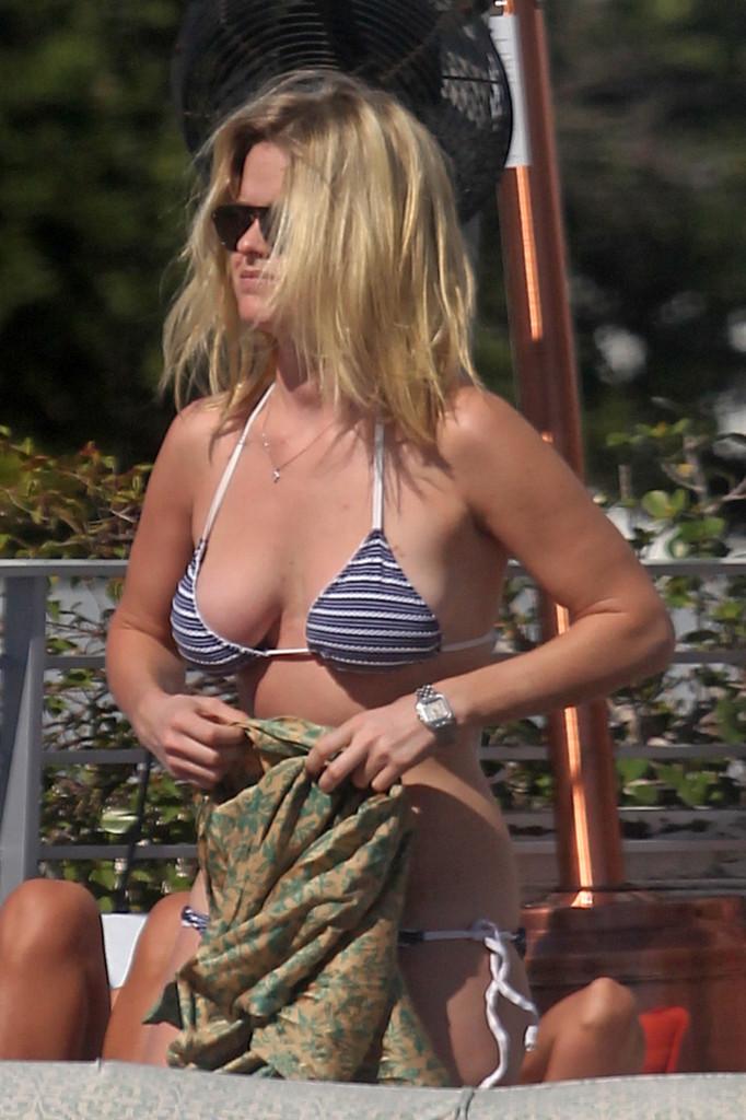 Alice Eve - Bikini Body at a Beach in Miami 2012-04 - GotCeleb