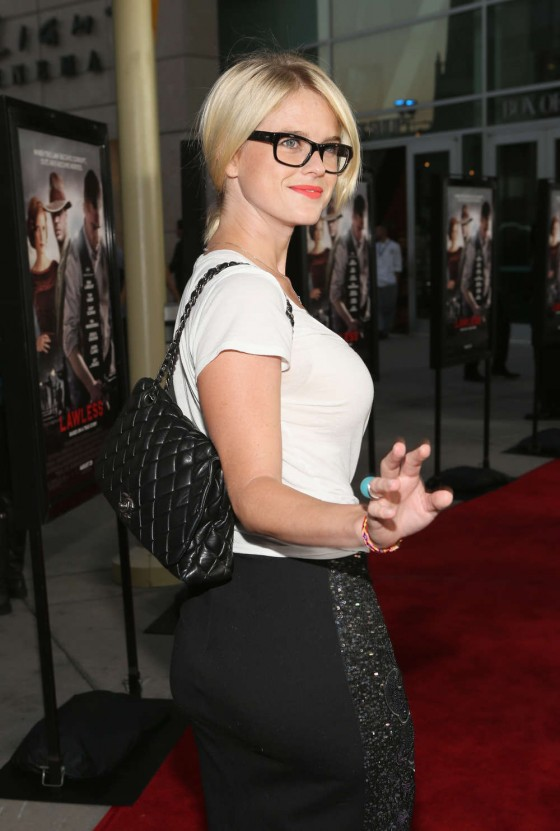 Alice Eve - Lawless premiere in LA