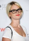 Alice Eve - Hot in Skirt and Glasses-14