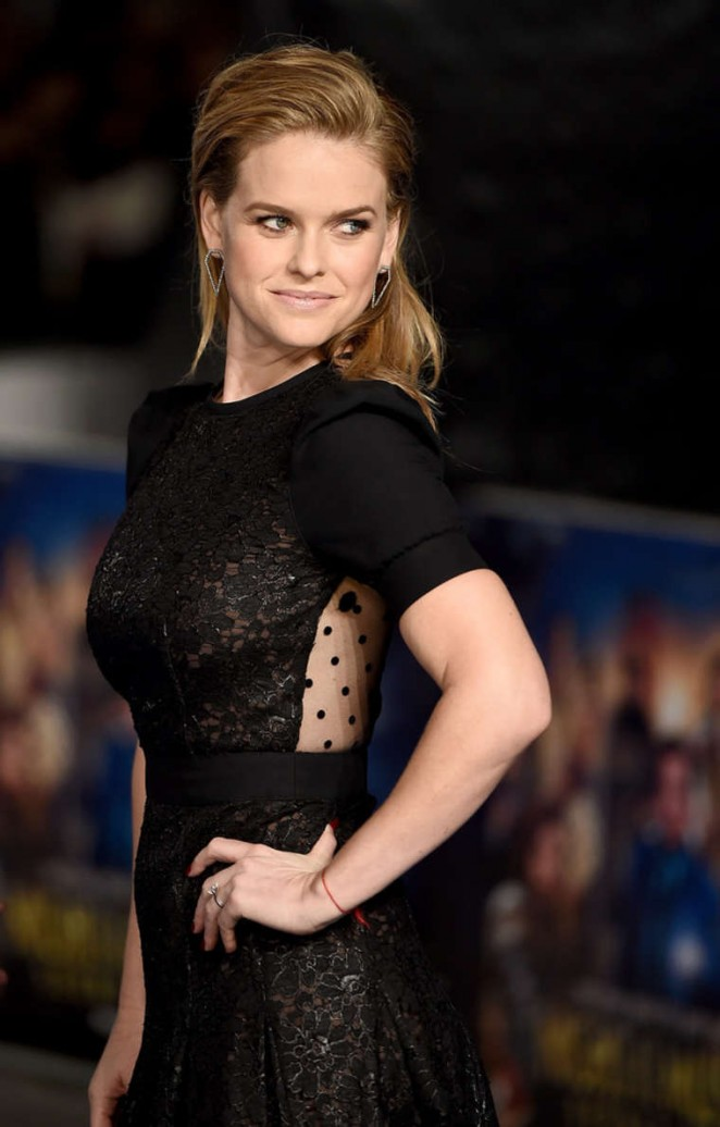 Alice Eve - 'Night At The Museum: Secret Of The Tomb' premiere in London