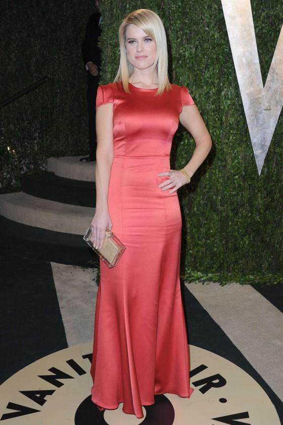 Alice Eve 2013 : Alice Eve – Oscar 2013 – Vanity Fair Party -04