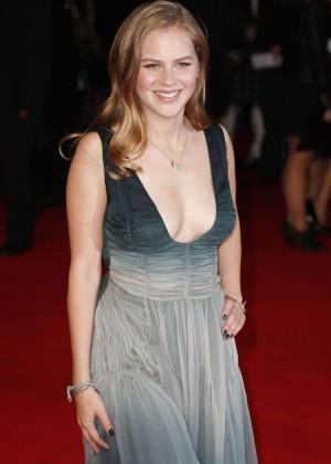 Alicia von Rittberg - 'Fury' Premiere in London