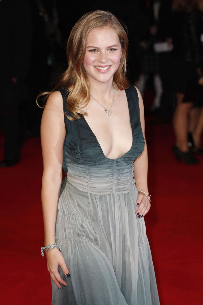 Alicia von Rittberg - 'Fury' Premiere in London