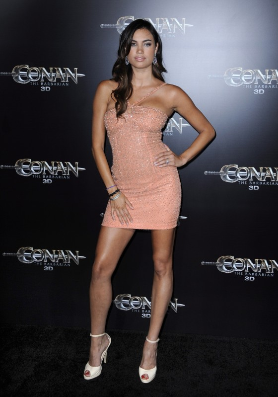 Alina Puscau - Premiere of Conan the Barbarian-06 - GotCeleb