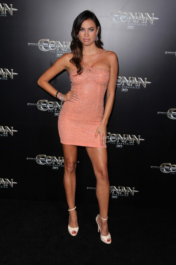 Alina Puscau - Premiere of Conan the Barbarian-10 - GotCeleb