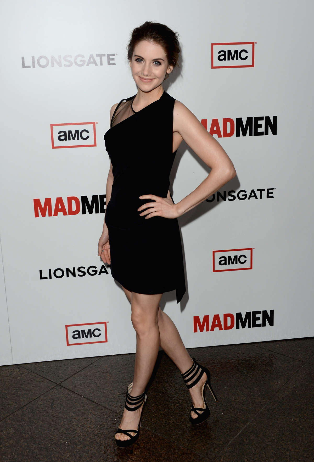 "Alison Brie - ""Mad Men"" Season 6 premiere in LA"