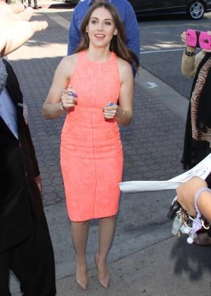 Alison Brie: The LEGO Movie Premiere -03