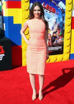 Alison Brie: The LEGO Movie Premiere -04