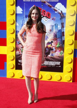 Alison Brie: The LEGO Movie Premiere -06