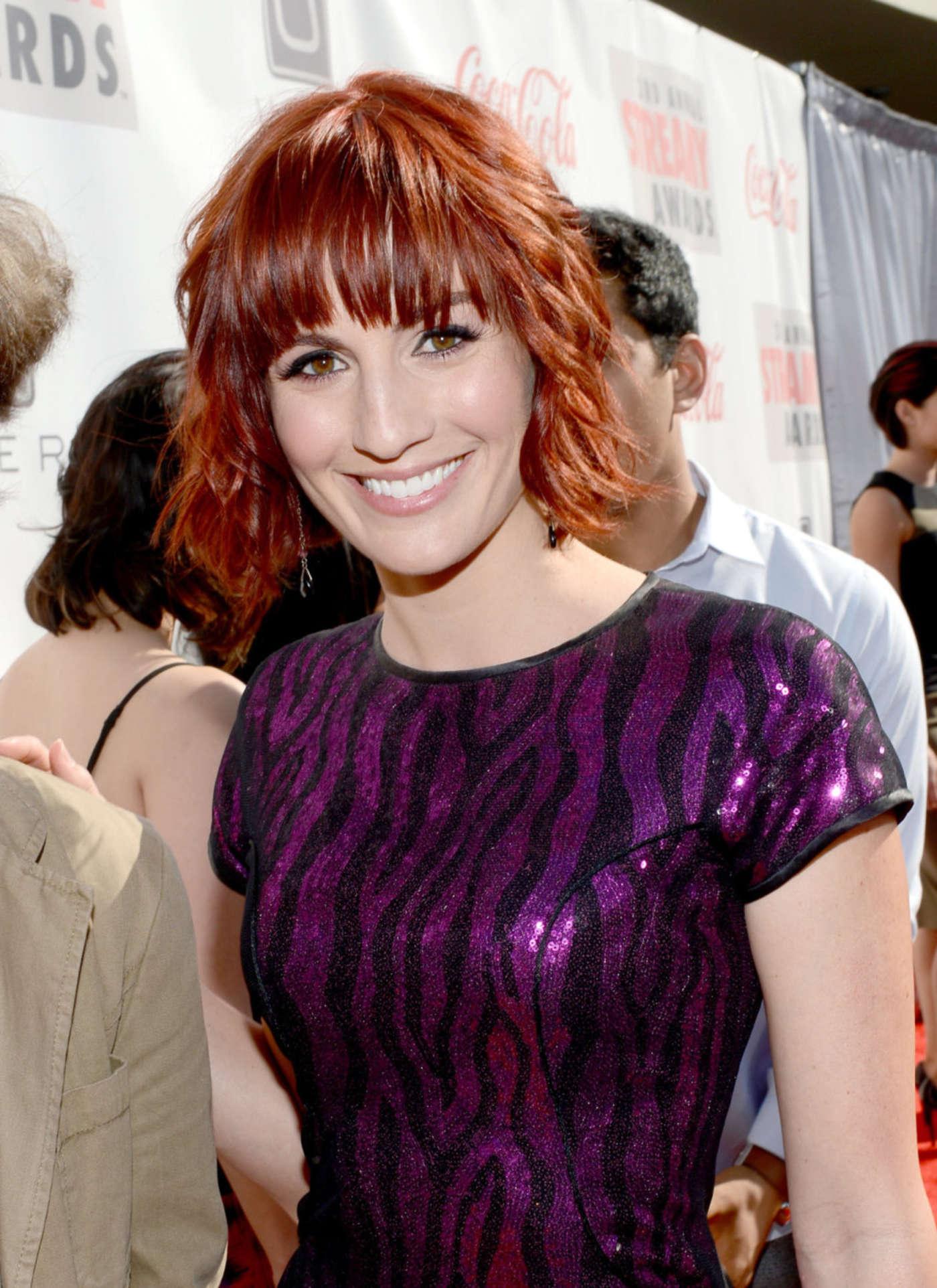Alison Haislip 2013 : Alison Haislip – 2013 Streamy Awards -04