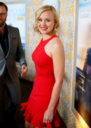 "Alison Pill - ""The Newsroom"" Season 3 Premiere in Los Angeles"