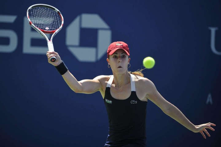 Alize Cornet – 2014 U.S. Open tennis tournament in New York -01