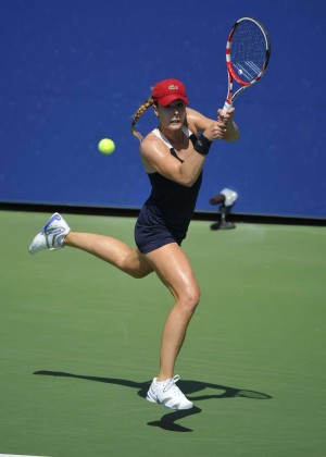 Alize Cornet - 2014 U.S. Open tennis tournament in New York