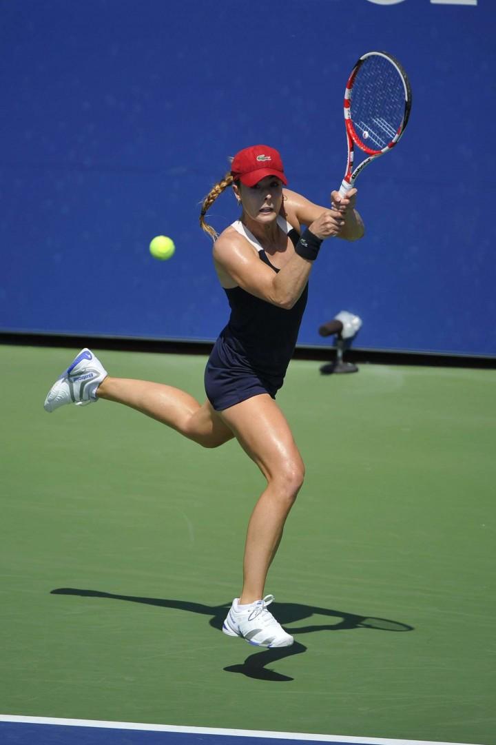 Alize Cornet - 2014 U.S. Open tennis tournament in New York