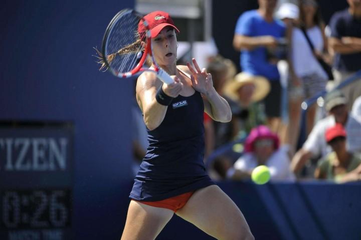 Alize Cornet – 2014 U.S. Open tennis tournament in New York -14