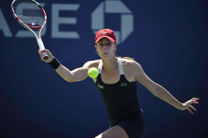 Alize Cornet – 2014 U.S. Open tennis tournament in New York -17