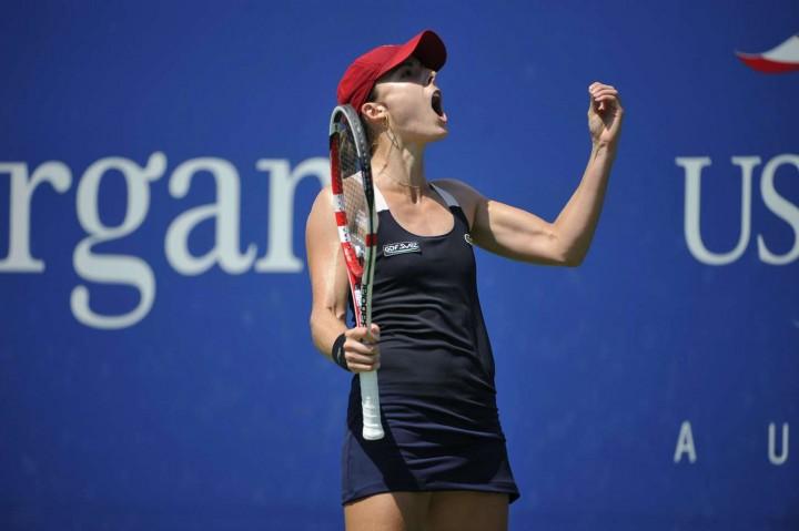 Alize Cornet – 2014 U.S. Open tennis tournament in New York -20