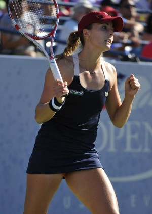 Alize Cornet - U.S. Open 2014 Tennis Tournament in New York
