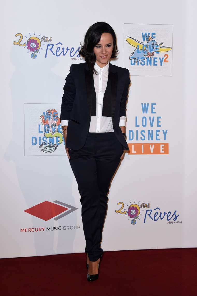 Alizee 2014 : Alizee: We love Disney 2 Concert Red Carpet -03