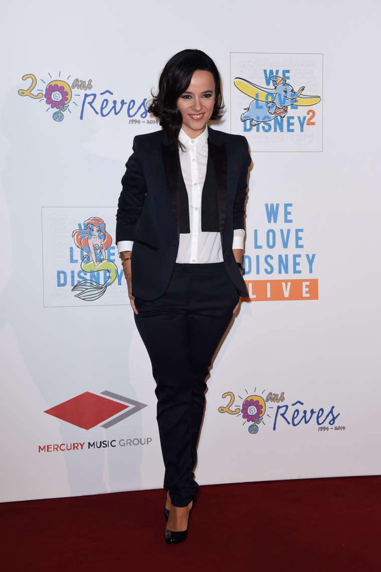 Alizee 2014 : Alizee: We love Disney 2 Concert Red Carpet -07