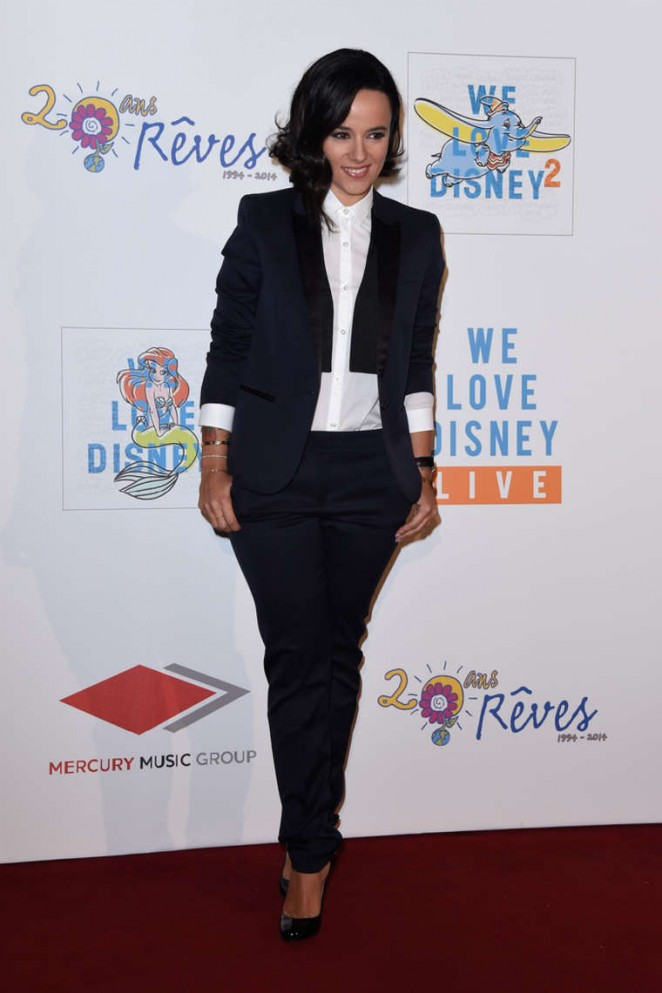 Alizee 2014 : Alizee: We love Disney 2 Concert Red Carpet -08