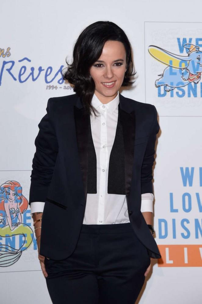 """Alizee – """"We love Disney 2"""" Concert Red Carpet in Paris"""