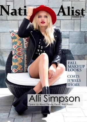 Alli Simpson - Nationalist Magazine (October 2014)